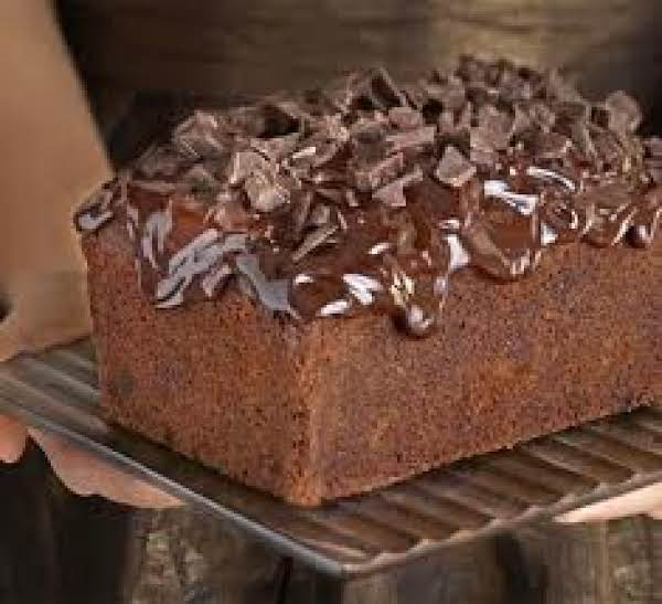 Chocolate Loaf Cake & Fudge Frosting Recipe