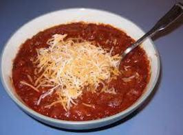 FOR CHILI: Follow instructions for the sauce cook drain the meat and then add...