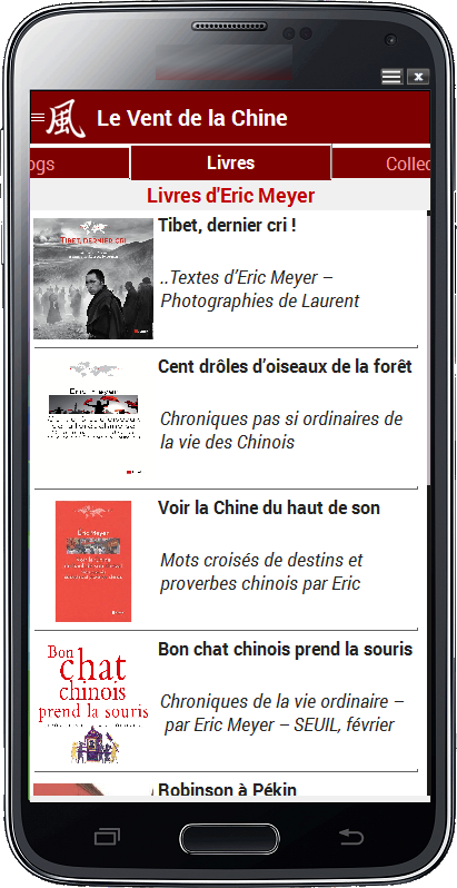LE VENT DE LA CHINE (VDLC)- screenshot