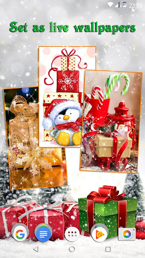 Christmas Gifts ud83cudf81 Live Wallpapers New Year 2.4 screenshots 5