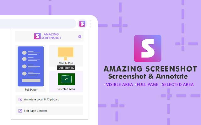 Amazing Screenshot and Annotate Tool