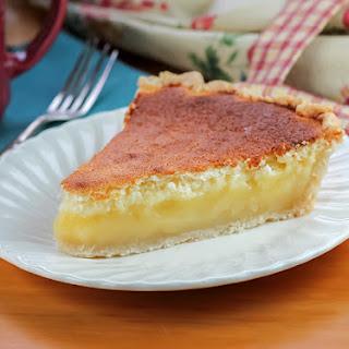 Lemon Sponge Pie.