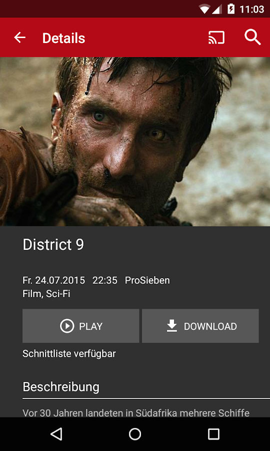 Save.TV für Android- screenshot