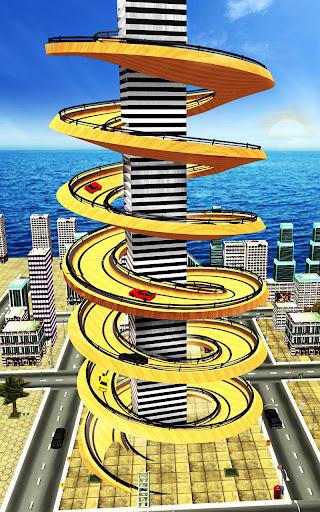 Spiral Ramp : Crazy Mega Ramp Car Stunts Racing 1.0.1 screenshots 1