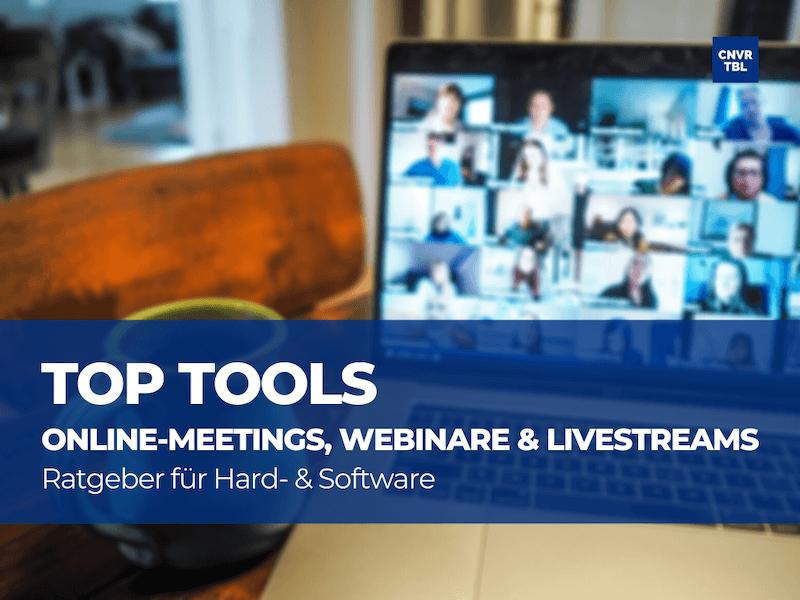 Top Tools für Zoom, Webinare & Livestreams