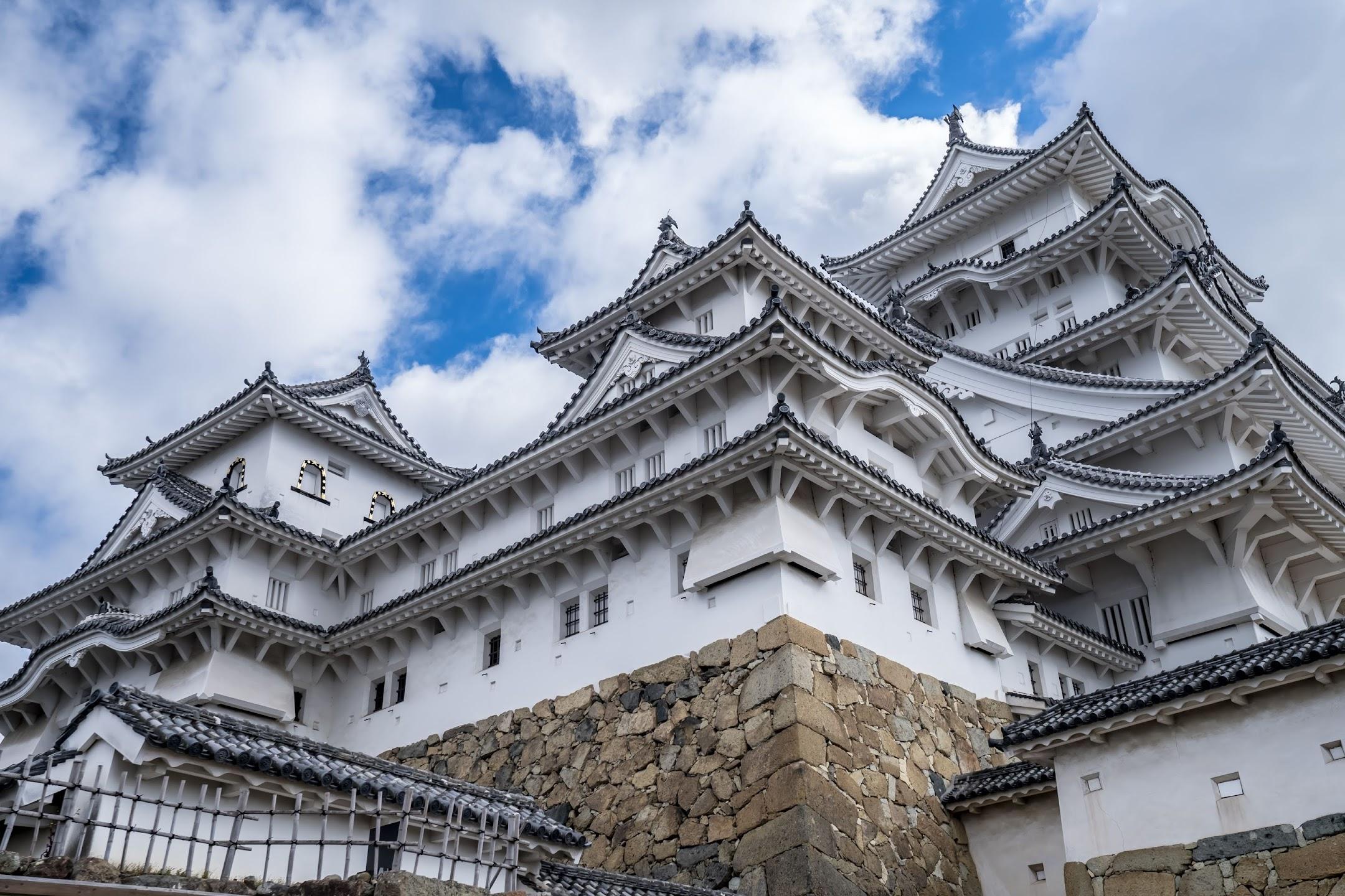 Himeji Castle castle tower1