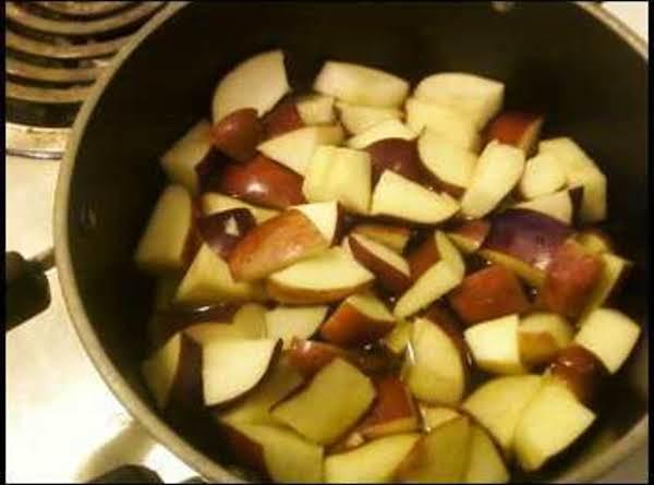Homemade Cinnamon Apple Suace