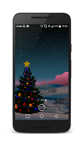 android Winter Live Wallpaper Screenshot 4
