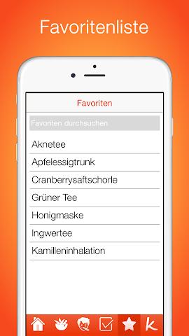 android Natürliche Hausmittel Screenshot 3