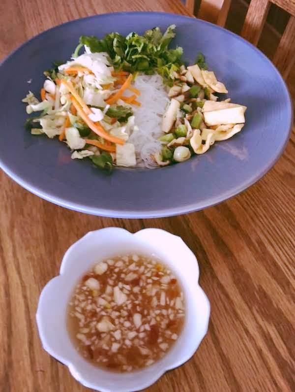 Vietnamese Vegetable Vermicelli Bowl Recipe