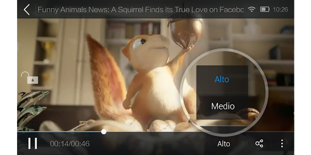 UC Browser - Videos populares Screenshot