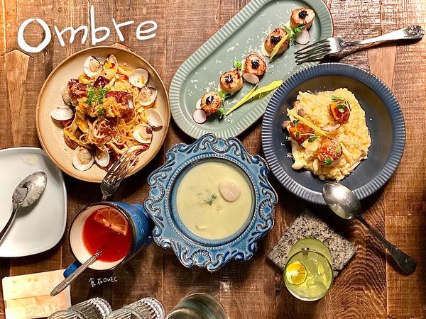 台北/大安~東區人氣名店/從早午餐、甜點、晚餐至消夜餐酒都可以滿足你的~ Omb're