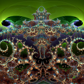 Philoh's Kingdom by Rick Eskridge - Illustration Sci Fi & Fantasy ( fantasy, jwildfire, mb3d, fractal, twisted brush )