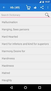 Mind Rubrics Dictionary - náhled