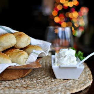 Homemade Breadsticks with Garlic Cheese Dip Recipe
