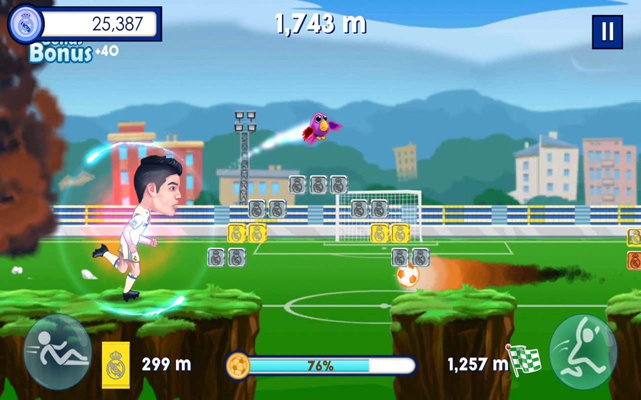 Real Madrid Runner GO Apl Android Di Google Play