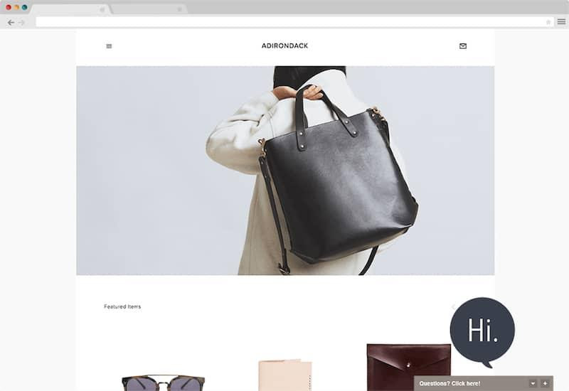 SquareSpace Pure Chat