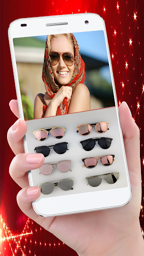 Stylish Sun Glasses Photo Editor u2013 Try On Glasses 1.0 screenshots 1