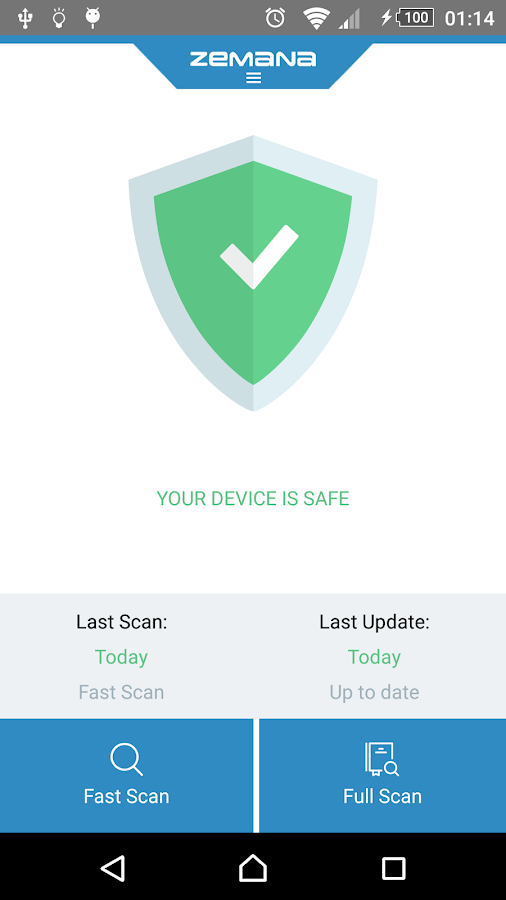 Resultado de imagen de Zemana Mobile Antivirus Premium