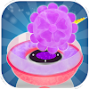 Rainbow Cotton Candy Maker Giant Flower Candy jeu. APK