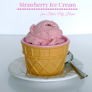 Strawberry Ice Cream.