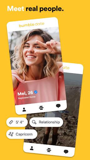 Bumble – Dating, Make New Friends & Business  screenshots 1