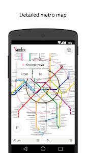 Yandex.Metro — detailed metro map and route times 3.0.1