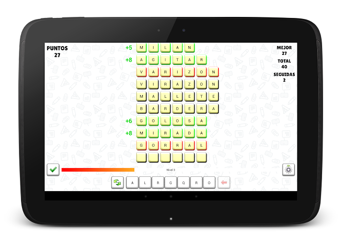 android A Pensar Palabras Screenshot 3