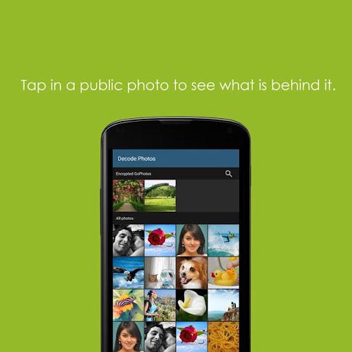GoPhoto - Sharing Secretly