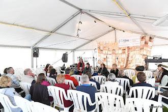 Photo: Sunday morning Community Gospel singing with Saltwater Taffy