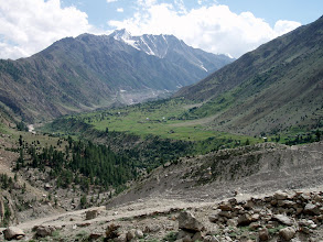 Photo: view towards Rupal village