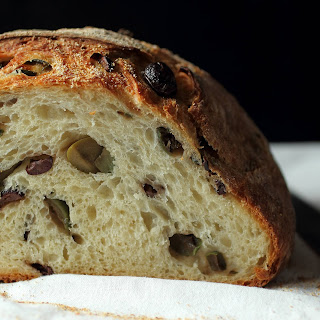Homemade Mediterranean Olive Bread Recipe