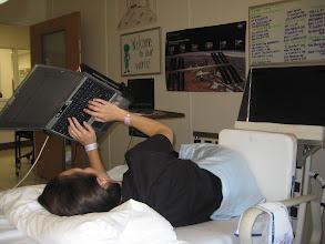 Photo: Laptop configuration