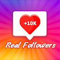 Get real followers & likes for instagram fast icon