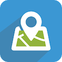 LocName: Address Book with GPS icon