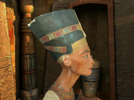 visual description nefertiti Home / international / nefertiti, xl nefertiti, xl description egyptian patterned upon visual inspection.