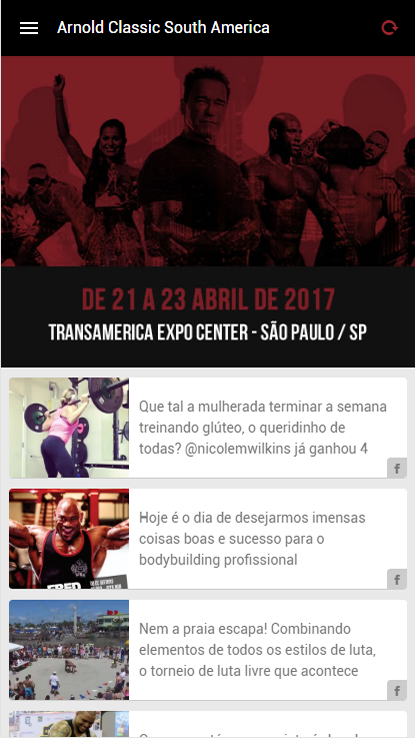 Arnold Classic South America- screenshot