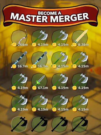 Blacksmith - Merge Idle RPG  screenshots 17
