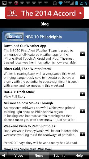 NBC10 Weather screenshot 4
