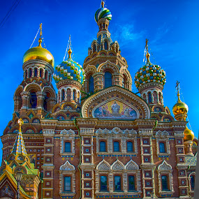 Historic Church in Russia by Pravine Chester - Buildings & Architecture Public & Historical ( building, russia, church, historic building, architecture, photography,  )