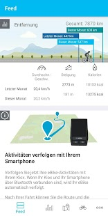 Bosch eBike Connect Screenshot