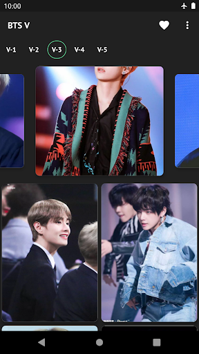 BTS V Kim Taehyung Wallpaper Offline - Best Photos 2.0.1 screenshots 7