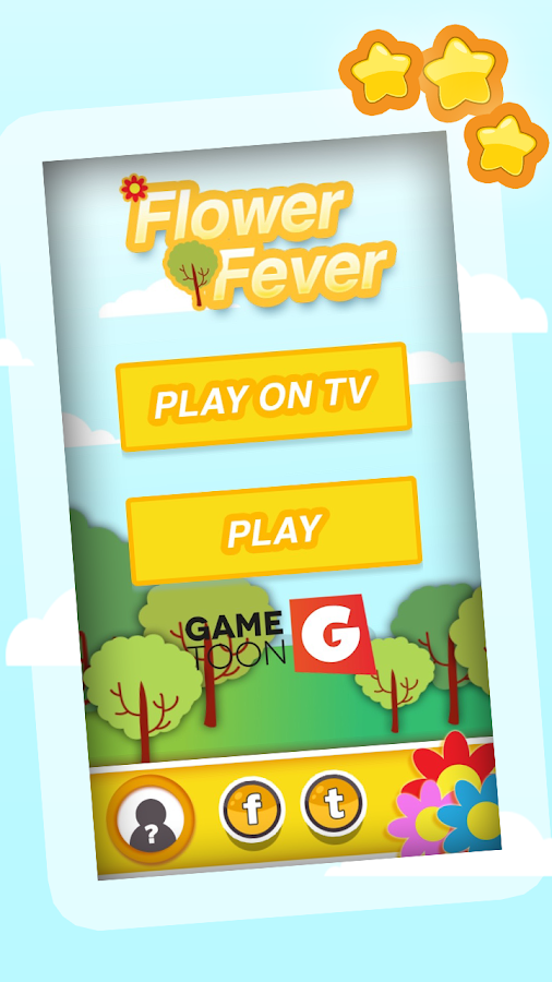 Flower Fever Gametoon- screenshot