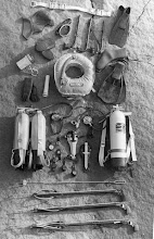 Photo: Selection of Atlantic Watersports Diving Gear: 1966