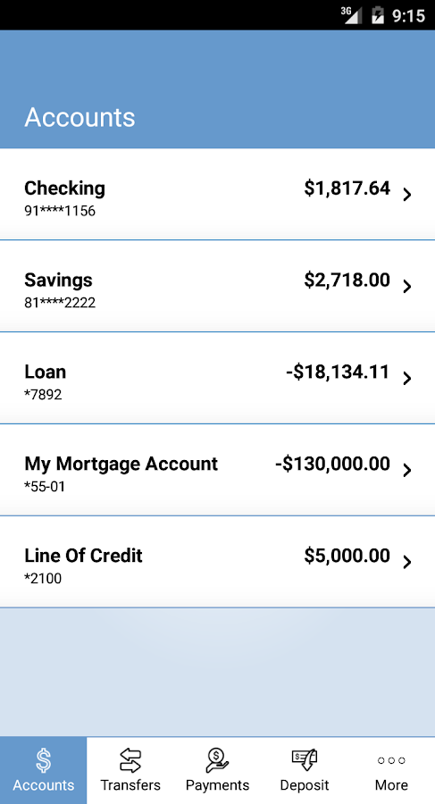 The State Bank Mobile Banking- screenshot