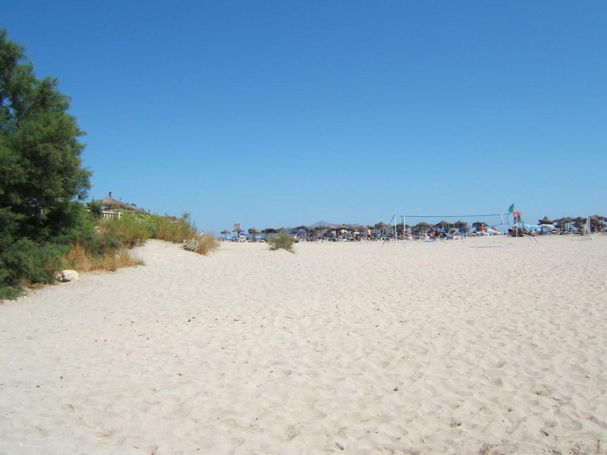 Am Strand von Son Bauló