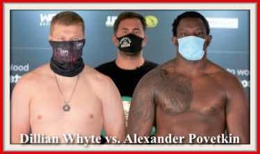 Boxing: Whyte v Povetkin
