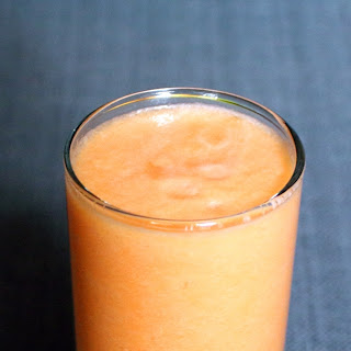 Cantaloupe Ginger Smoothie.