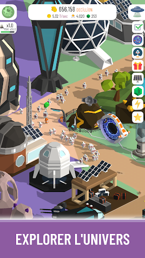 Code Triche Space Colony: Idle apk mod screenshots 3