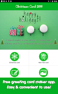 New Year Card 2018: Make greeting e-card - náhled